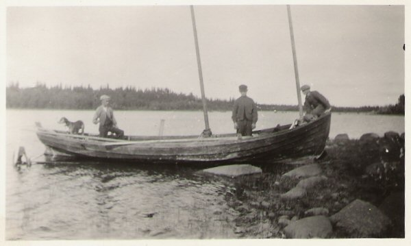 Fiskebåt 1940-tal.