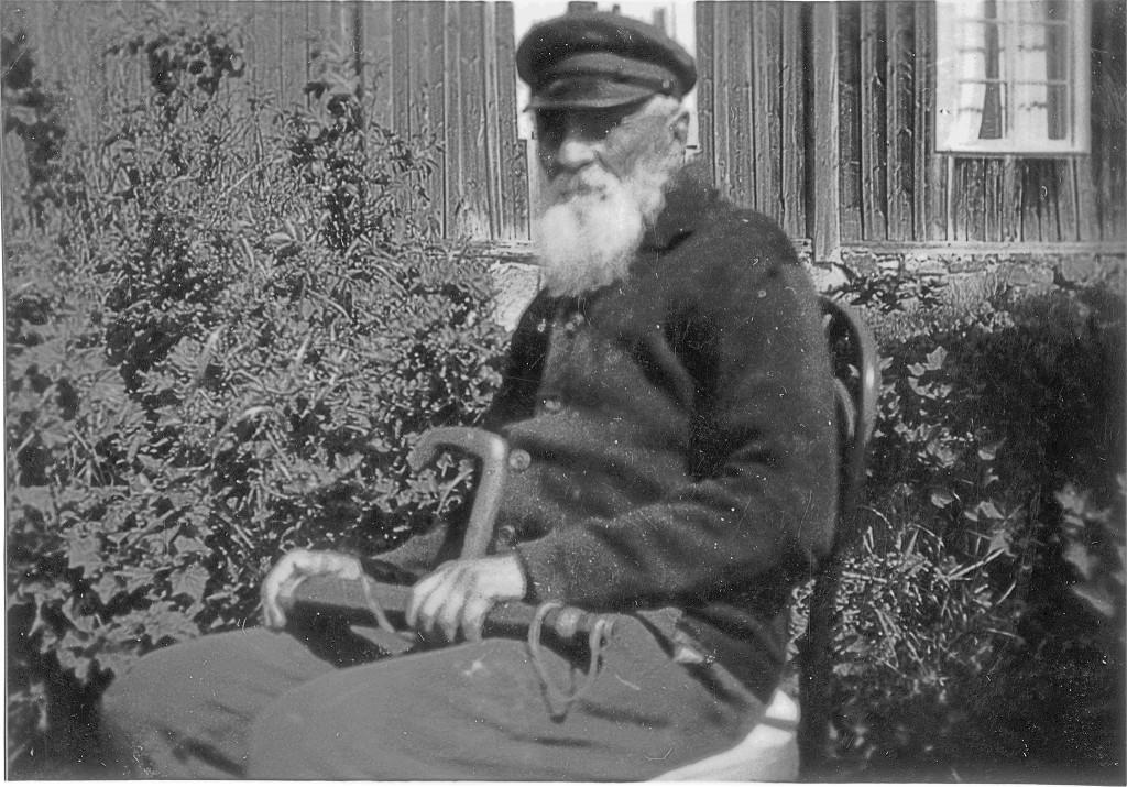 Johannes Öhlund, foto från ca. 1930.