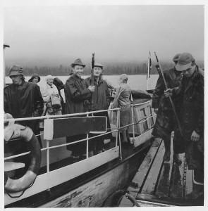 STFs båt i Kvikkjokk