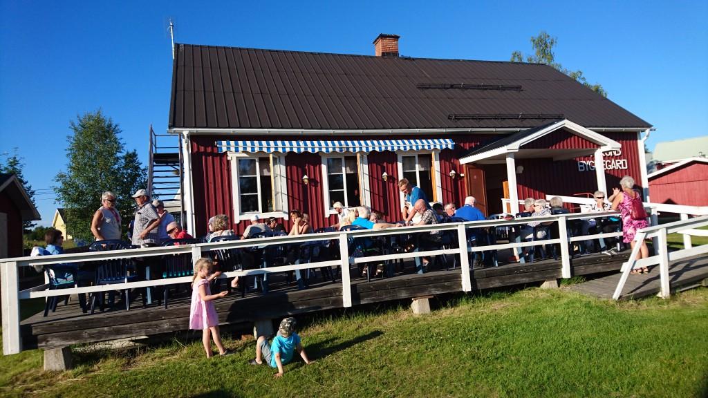 Våffelcafé i bygdegården